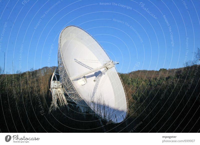 Radio telescope Effelsberg Technology Science & Research Advancement Future High-tech Telecommunications Information Technology Industry Aviation Astronautics