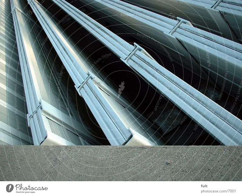 Architecture Concrete Tunnel Ventilation Tin Ventilation shaft
