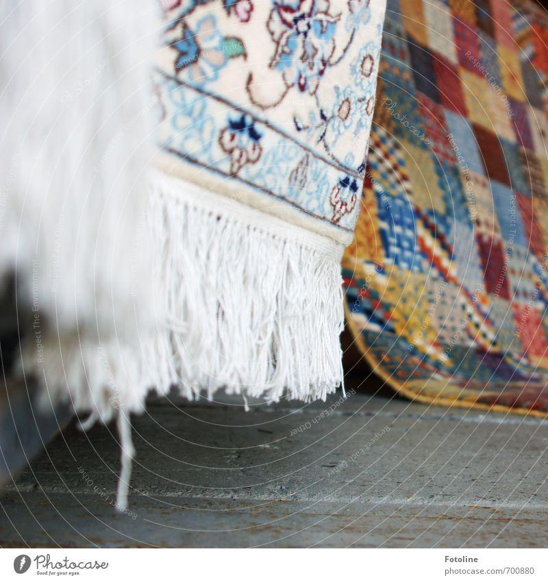 Orient Luxury Style Design Living or residing Decoration Bright Soft Multicoloured Carpet Rug fringe Carpet store Oriental carpet Colour photo Detail Pattern