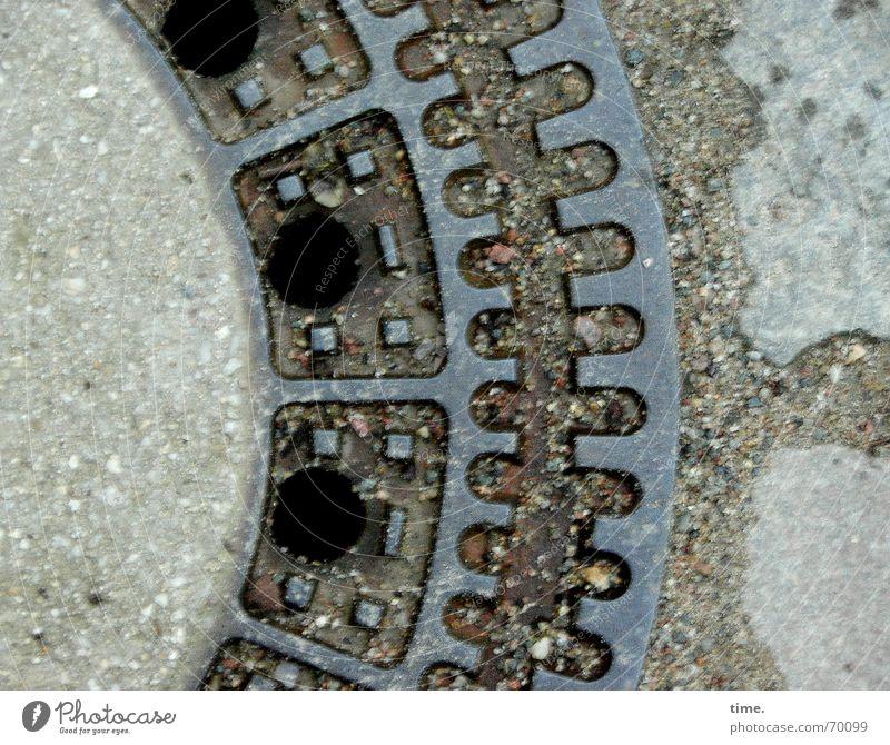 Street Concrete Gloomy Iron Downward Sustainability Gully Photos of everyday life Subsoil London Underground Useful Drainage system