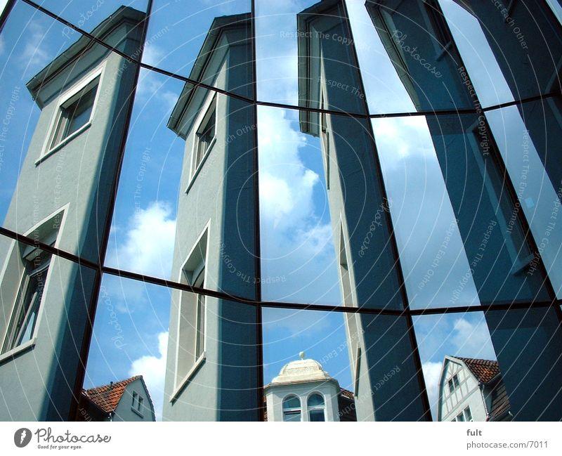mirror facade Glas facade Mirror Style Architecture Glass Sky