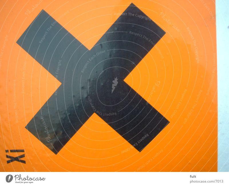X Black Style Things Orange