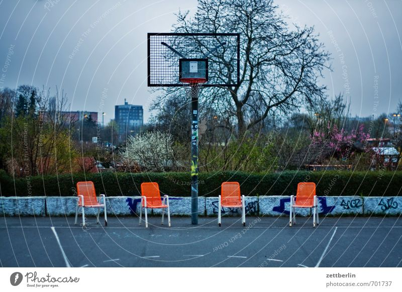 basketball Sports Fitness Sports Training Ball sports Sporting Complex Environment Nature Landscape Clouds Spring Garden Park Town Downtown Outskirts Deserted