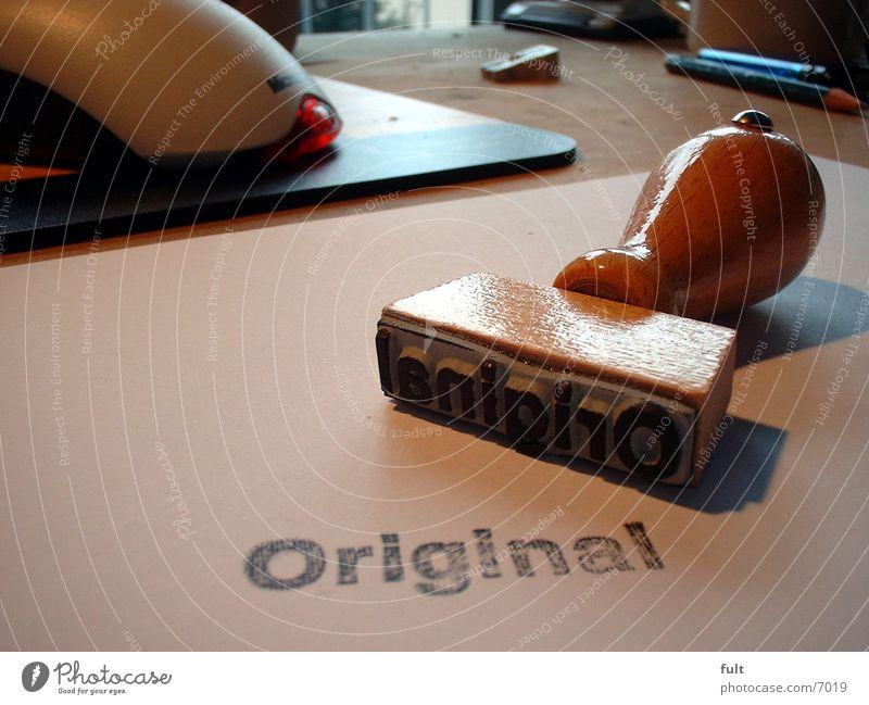rubber stamp Original Things