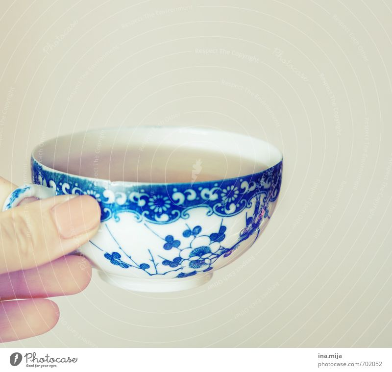 Blue Relaxation Food Wait Glass To enjoy Nutrition Beverage Break Drinking Common cold Illness Delicious Tea Breakfast Crockery