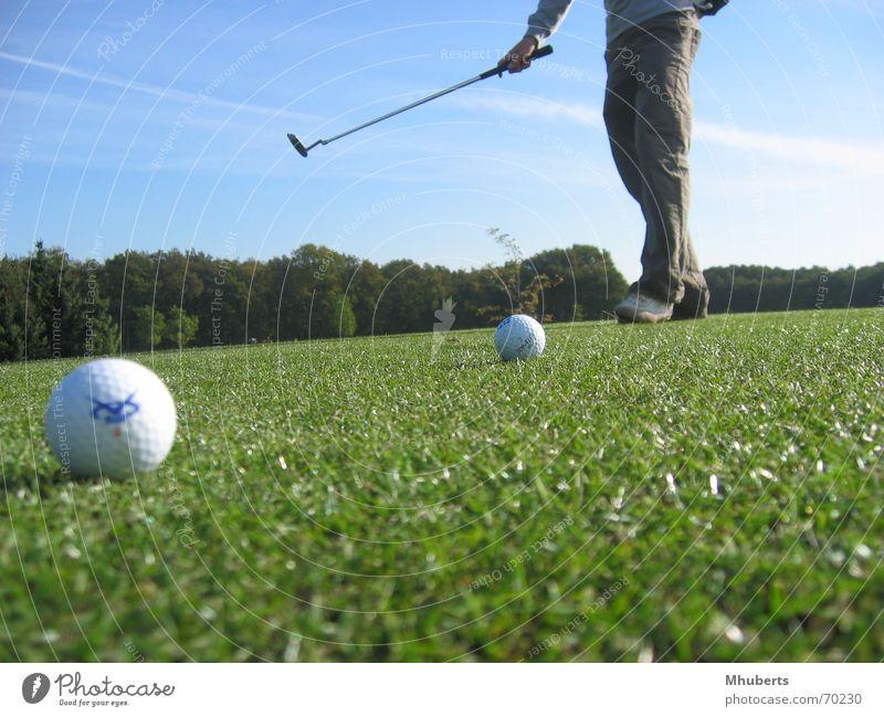 2 balls Club Nature Golf grass the netherlands course putting