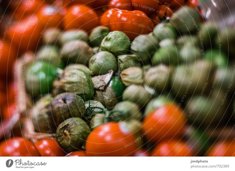 Green Red Tomatoes Food Vegetable Lettuce Salad Fruit Tomato salad Nutrition Organic produce Vegetarian diet Diet Italian Food Lifestyle Shopping Healthy Nature