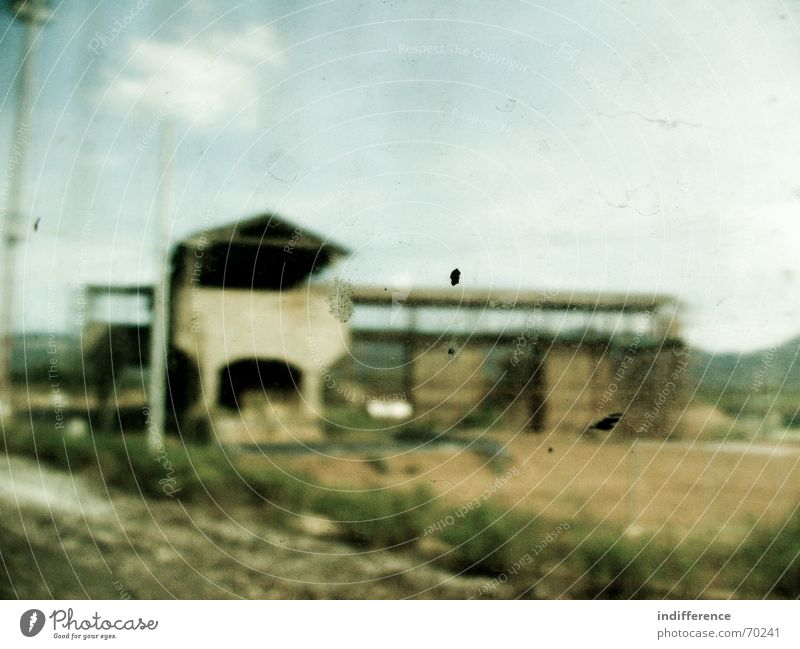 through the window series Vacation & Travel Italy Sky building train dirty Industrial Photography railroad blur motion glass tuscany clouds