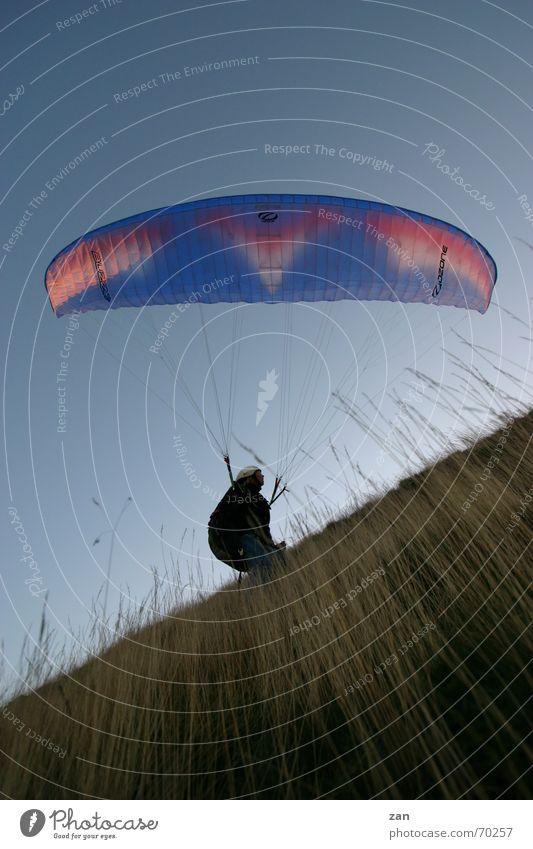 Flying Paragliding Pilot Paraglider Flying sports Rhön Wasserkuppe