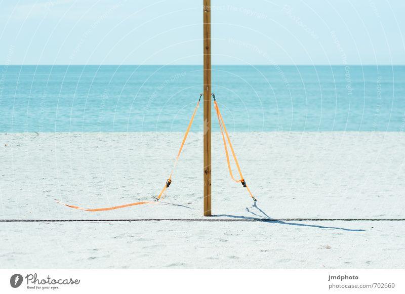 Vacation & Travel Blue Summer Ocean Joy Far-off places Beach Sports Freedom Orange Tourism Esthetic Island Trip Simple Infinity