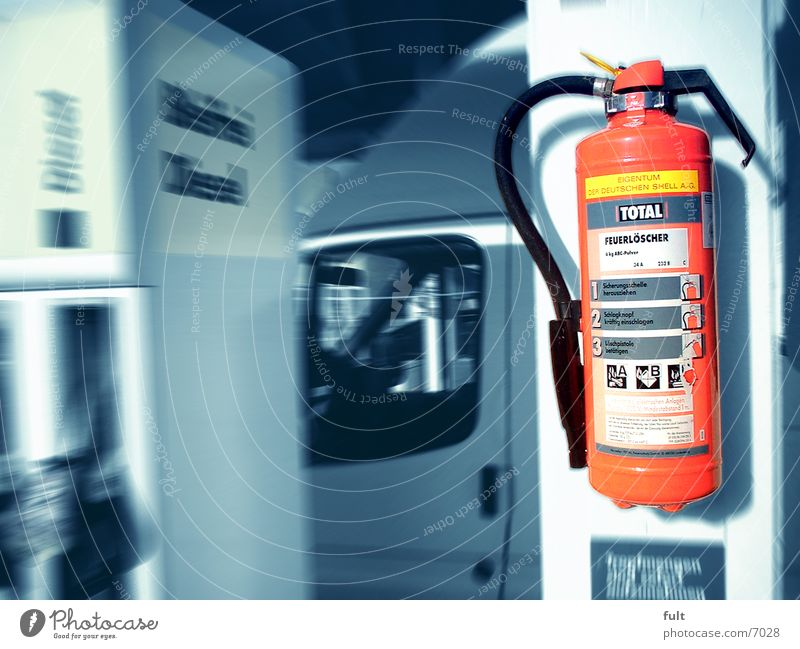 Red Technology Fire prevention Extinguisher Electrical equipment