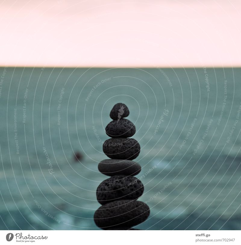 Ocean Calm Coast Stone Exceptional Power Contentment Success Esthetic Tower Uniqueness Safety Planning Pure Concentrate Serene