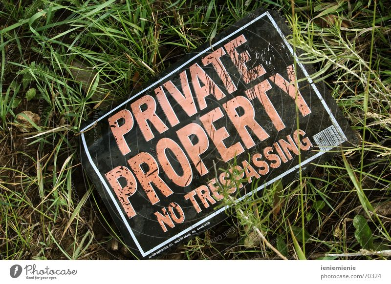 no trespassing! Real estate Private Bans Possessions Laws and Regulations durchbang no access Jail sentence