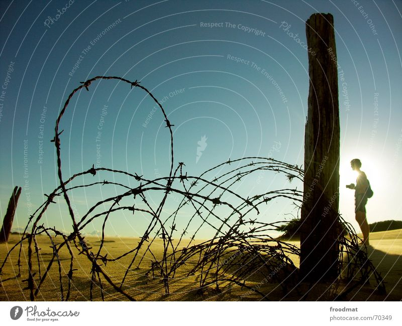 Sun Summer Beach Sand Hiking Desert Point Fence Barrier Photographer Brazil Thorny In transit South America Barbed wire