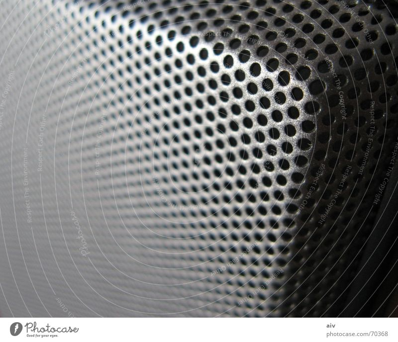 speaker Loudspeaker Macro (Extreme close-up) corner deep Metal