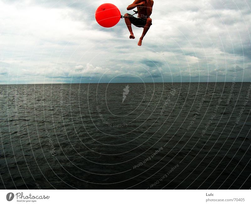 Sky Summer Jump Action Ball Extreme