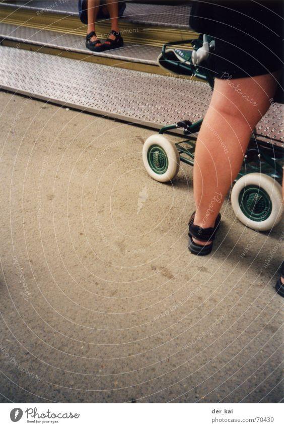 Street Legs Asphalt Desire Sandal Vignetting Baby carriage 1999