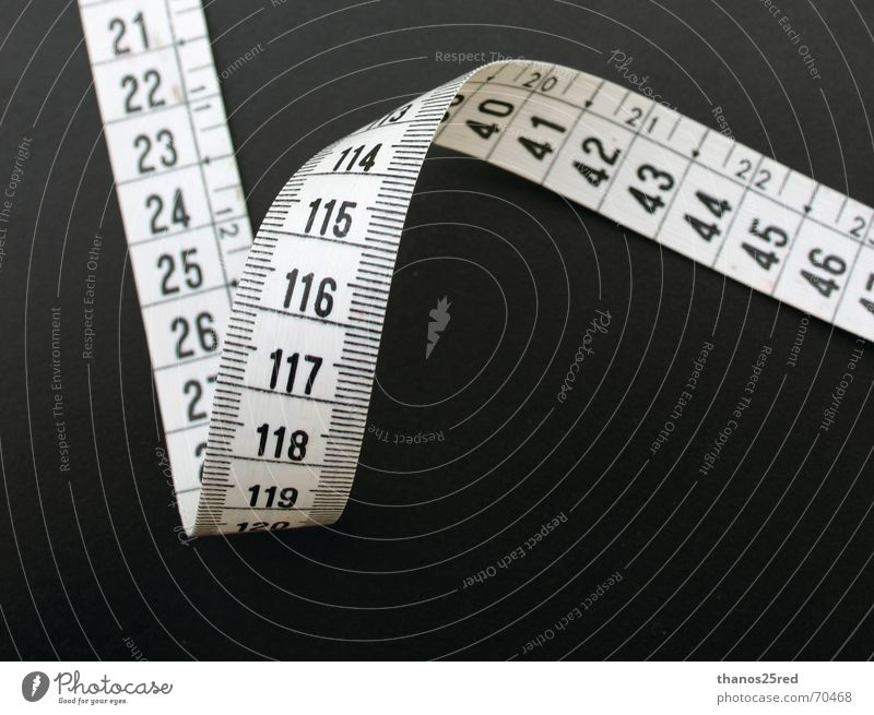 measure death Clever measuring idea black white number