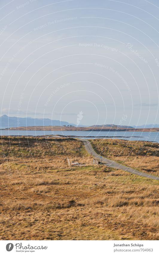 Isle of Skye II Environment Nature Landscape Coast Esthetic Scotland Island Highlands Field Mountain Vacation & Travel Vacation photo Travel photography Hiking