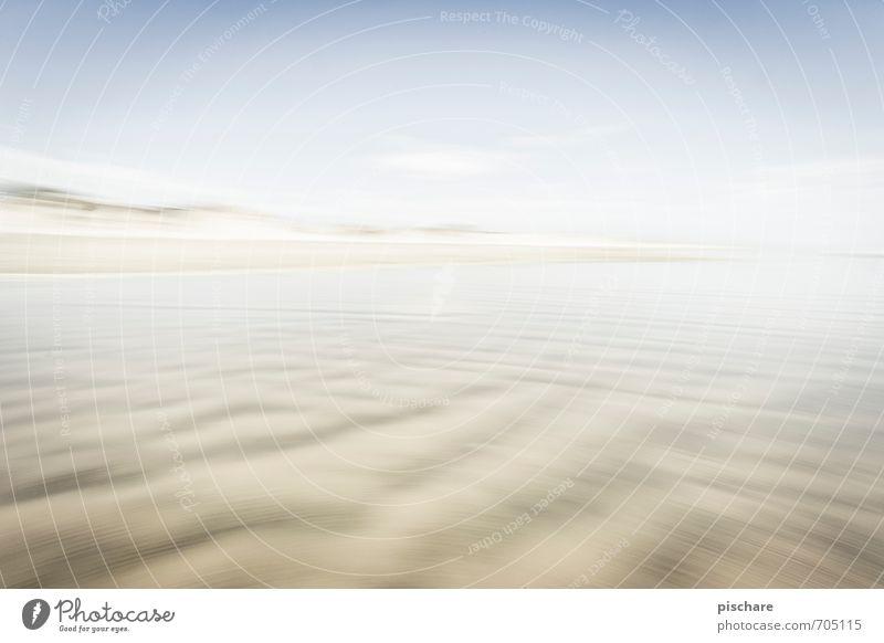 Ninety Mile Beach Landscape Sand Beautiful weather Exotic New Zealand Colour photo Exterior shot Deserted Day Blur Motion blur