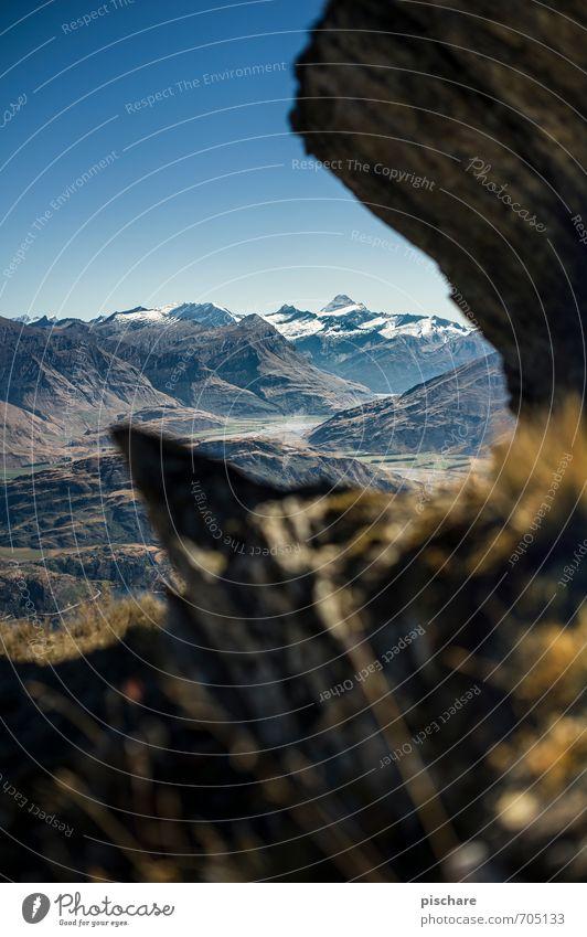 Nature Vacation & Travel Landscape Mountain Esthetic Adventure Snowcapped peak Sharp-edged New Zealand