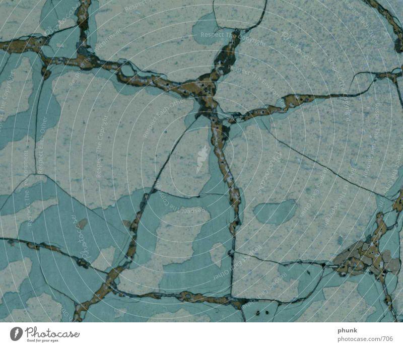 stone floor Stone floor Floor covering Blue Crack & Rip & Tear