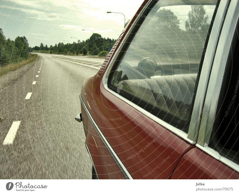 Sky Vacation & Travel Street Window Landscape Car Driving Asphalt Tracks Sphere Lantern Street lighting Loudspeaker Window pane Sweden Carriage