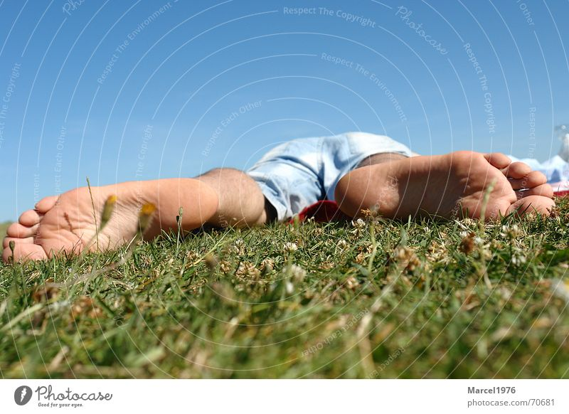 relaxing Meadow Relaxation Vacation & Travel Feet recreation Sky