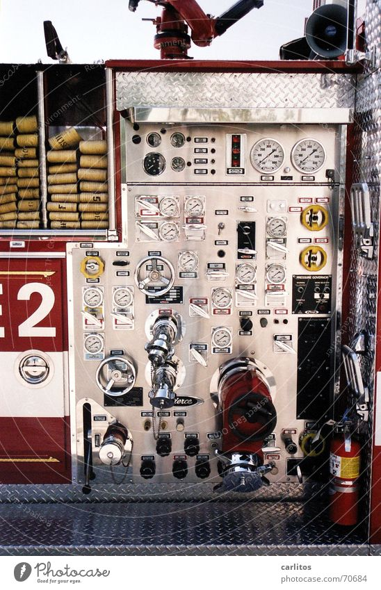 2 USA Musical instrument Fire department California Digits and numbers Controller Dashboard Los Angeles Fittings Beverly Hills