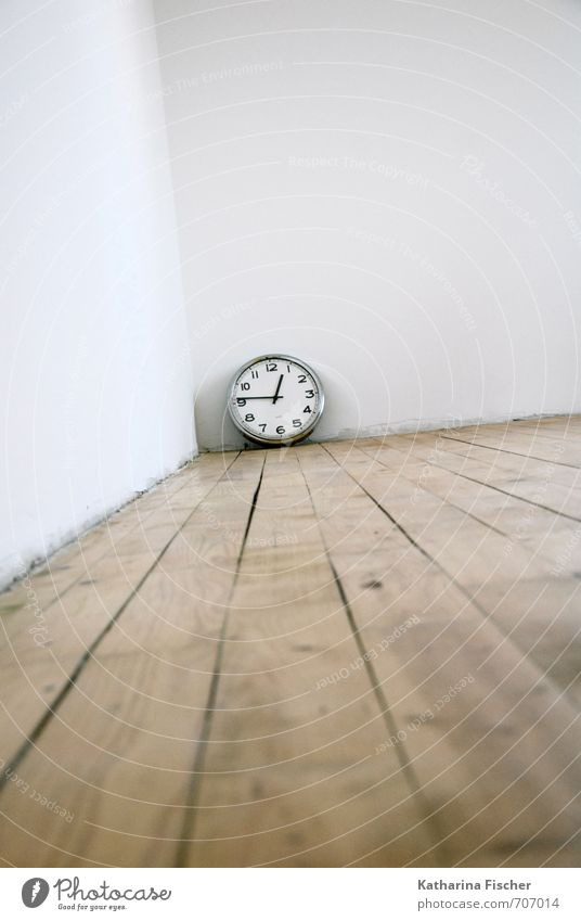 White Black Wall (building) Wood Time Brown Metal Room Clock Technology Concrete Future Transience Clock face Past Silver
