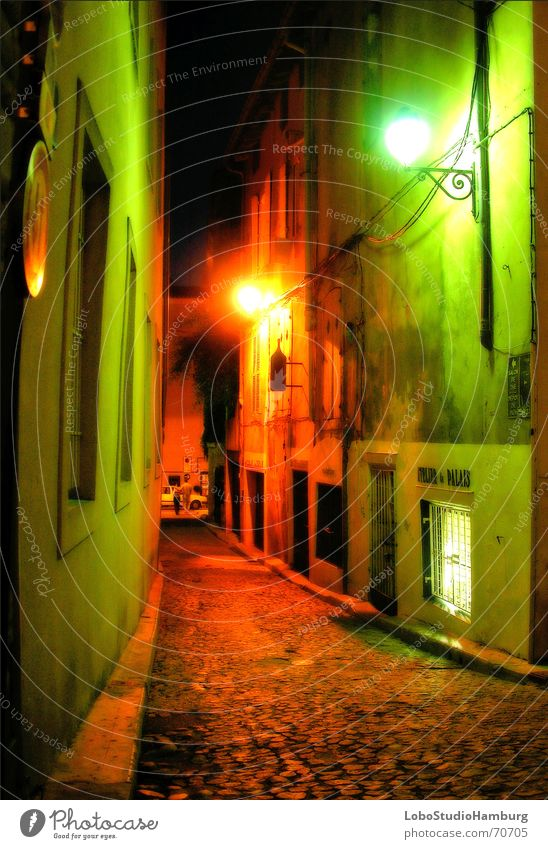 Avignon at night Alley Night Moody France Provence Medieval times Available Light Detective novel