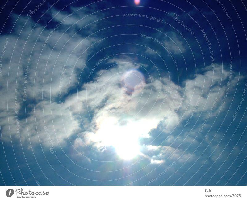 Sky Sun Blue Clouds