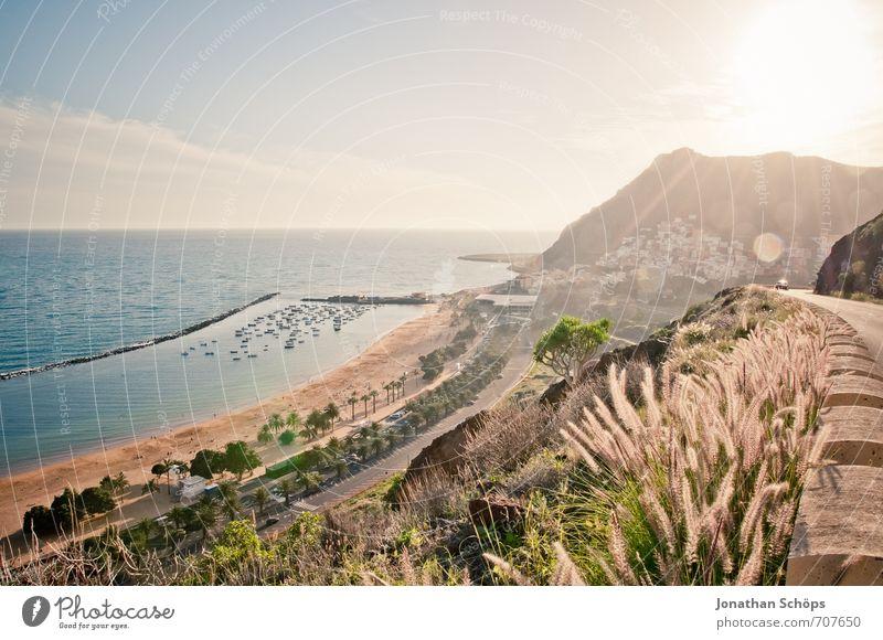San Andrés / Tenerife XXXVI Environment Nature Landscape Sky Sun Summer Beautiful weather Plant Grass Hill Rock Waves Coast Beach Bay Ocean Island Esthetic