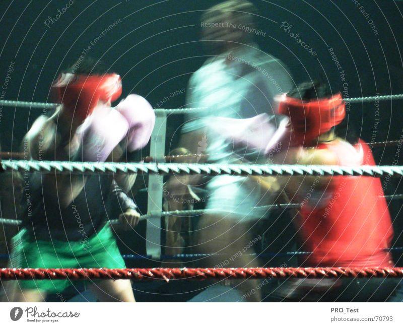 Night Of The Raging Bulls Woman Referee Gloves Loudspeaker Movement warrior Circle fight