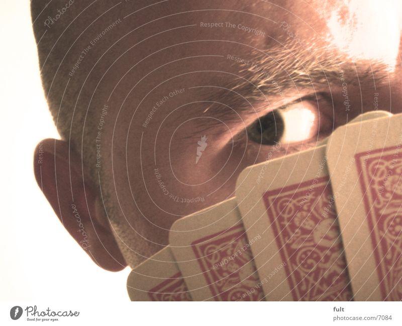 poker face Poker face Player Man Face Eyes