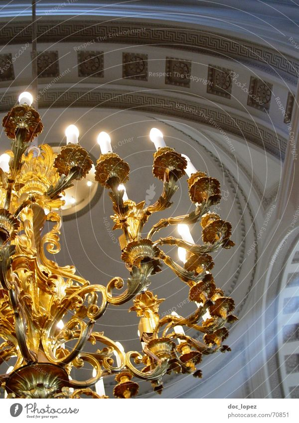 Religion and faith Lighting Glittering Gold Hope Candle Luxury God Deities Arch Clergyman Finland Chandelier Ornate Helsinki