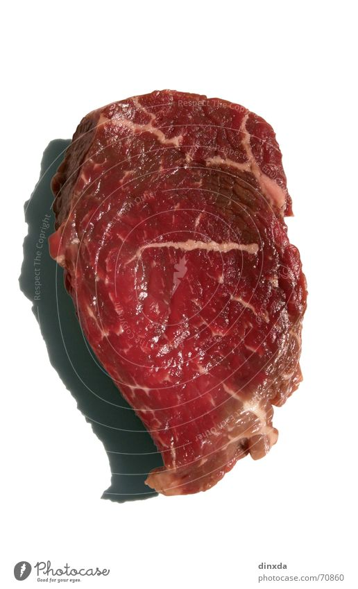 Red Nutrition Animal Food Beef Blood Meat Swine Cattle Raw Steak