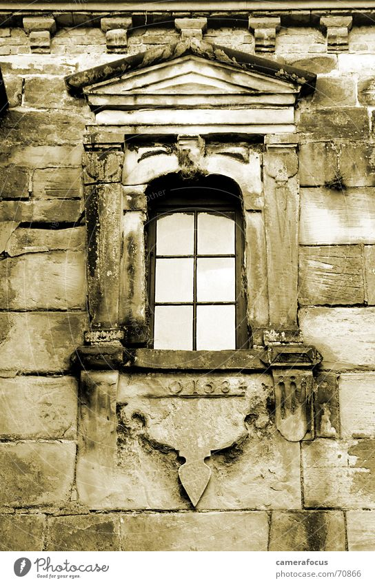 Window Architecture Farm Sepia Denmark Romeo and Juliet Renaissance Kronborg Castle