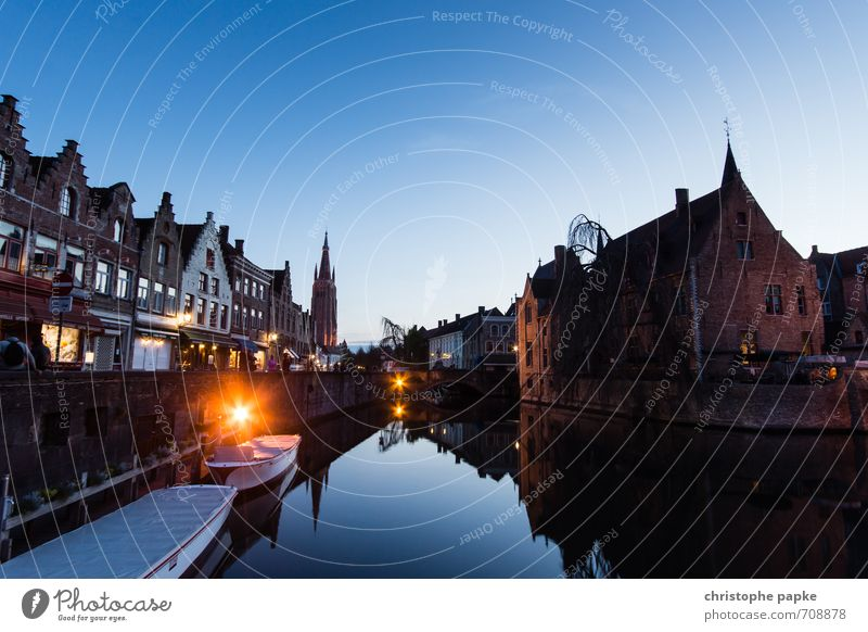 see Bruges... Vacation & Travel Tourism Trip Sightseeing City trip Cloudless sky Brugge Belgium Village Small Town Port City Downtown