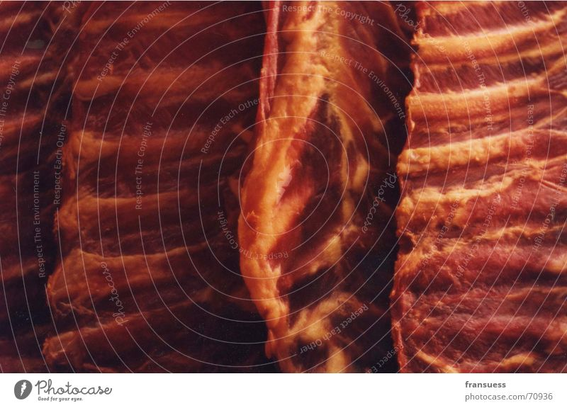Red Death Mirror Force Meat Swine Cattle Shop window Raw Butcher