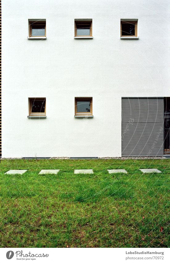 house wall Wall (building) Building Window Symmetry Direct Structures and shapes Architecture