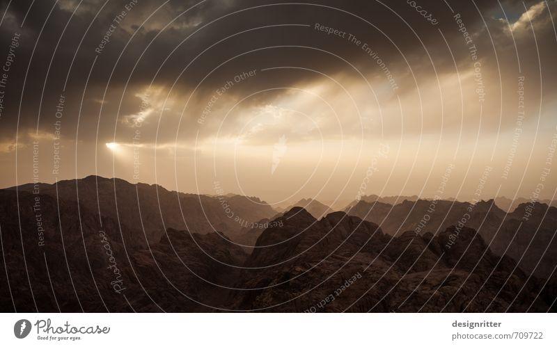 Sky Nature Old Sun Landscape Clouds Dark Environment Mountain Brown Sand Rock Weather Illuminate Esthetic Climate