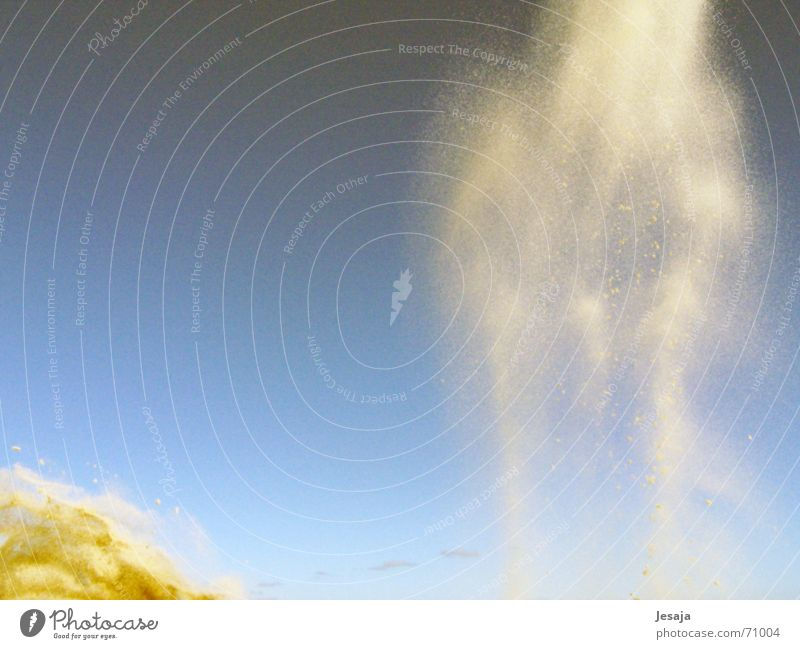 star sand Fog Clouds Grain Gravity To fall Gale Sand Throw Dynamics Wind Movement Universe