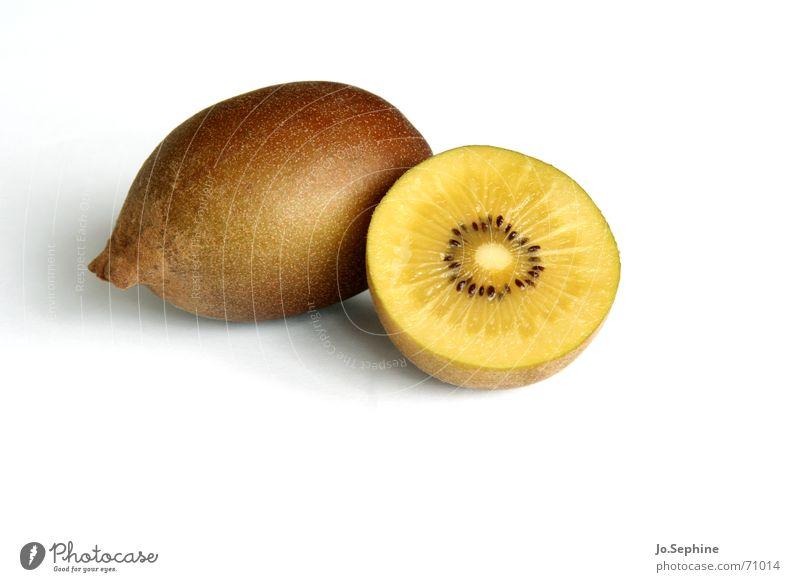 Zespri II Kiwifruit Tropical fruits Fruit flesh shell Kernels & Pits & Stones Part Sliced halved Round Food photograph Organic produce Ingredients Nutrition