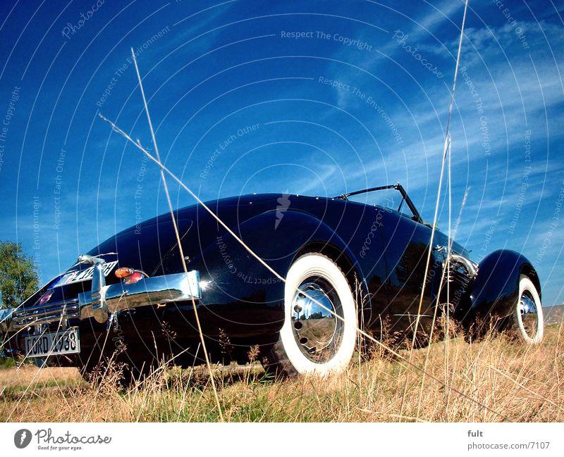 Black Style Car Transport Vintage car