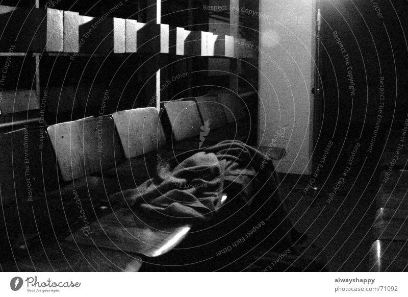 Dark Concrete Threat Room War Seating Dugout Uncomfortable Enclosed Waiting area Headrest