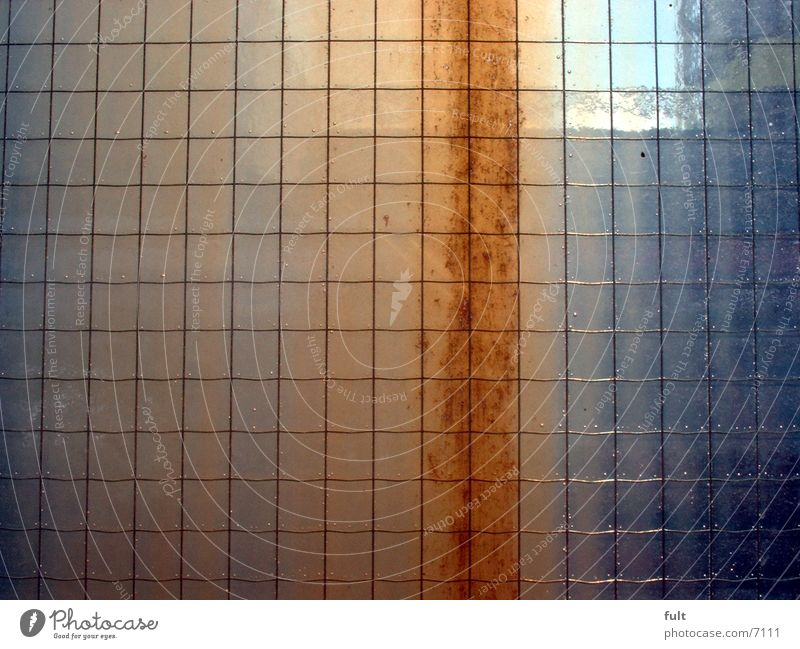glass pane Pane Safety glass Architecture Glass Rust