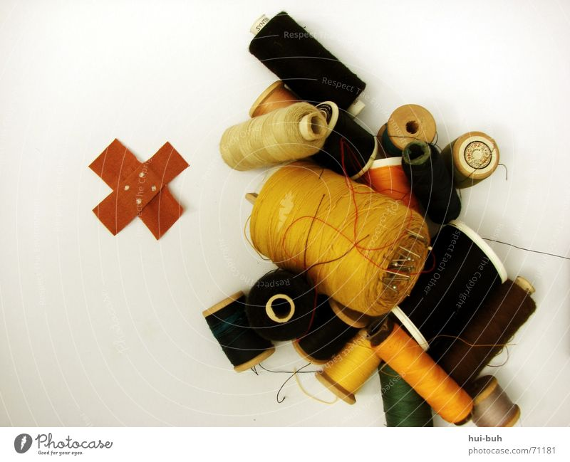 sewingkastenaua Sewing Adhesive plaster Cloth Coil White Pain Sewing thread Colour auha Needle mend sewing box Lie Wait