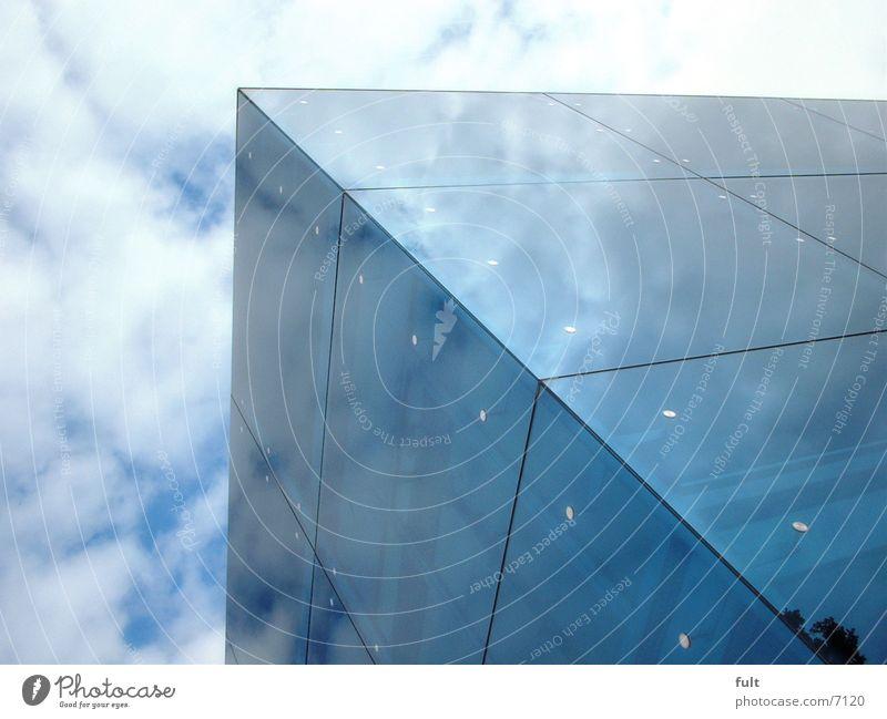 mirror facade Building Mirror Architecture Sky Glass Blue