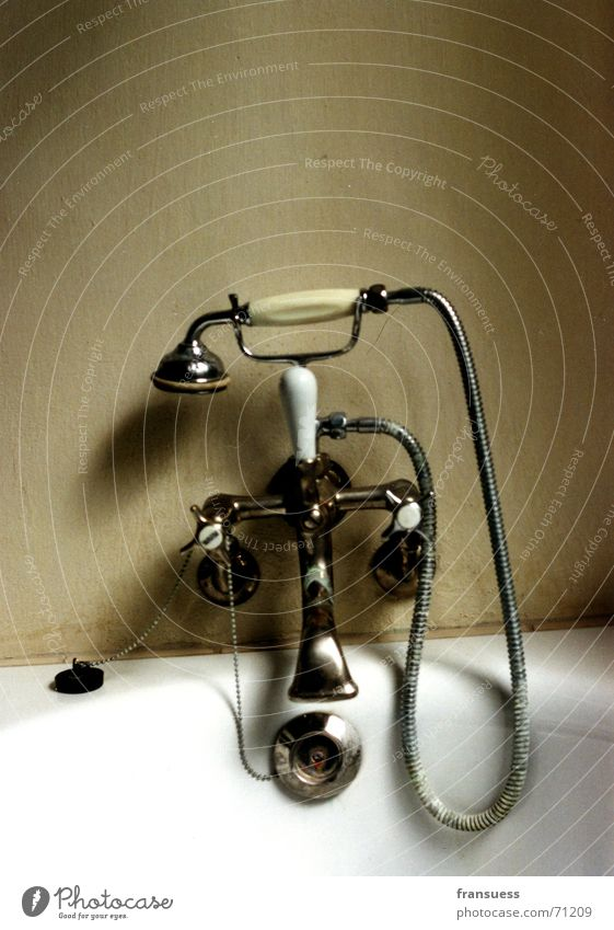 Old Water Cleaning Bathtub Shower (Installation) Soap Bauhaus Shower head Stopper Dessau